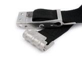Spanner mit Kipp-Sicherheitsverschluss und Flachhaken Niro