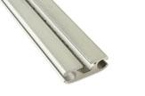51-2158 aus Aluminium für Keder bis 8,5mm, eloxiert, Breite 43mm