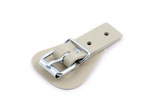 Buckles with welded loop